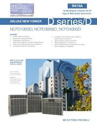 Deluxe New Yorker D E National fort Products