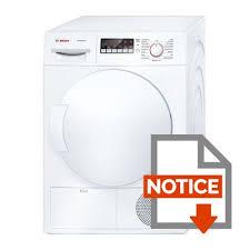 difference entre seche linge evacuation et condensation bosch wtb84200ff sèche linge 7 kg condensation classe b