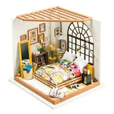Houses With Furniture Dora Kuhn German Wood Doll House Furniture