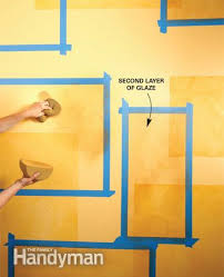 Wall Paint Decorative Techniques Interior Designs And Painting A Cemented Simple Design