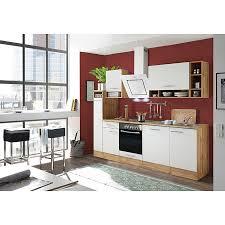 respekta küchenzeile bekb250ewc breite 250 cm mit