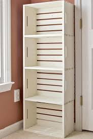 10 Exquisite Linen Storage Ideas For Your Home Decor Crate BookshelfCrates