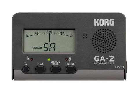 Korg Handheld Guitar and Bass Tuner - Black