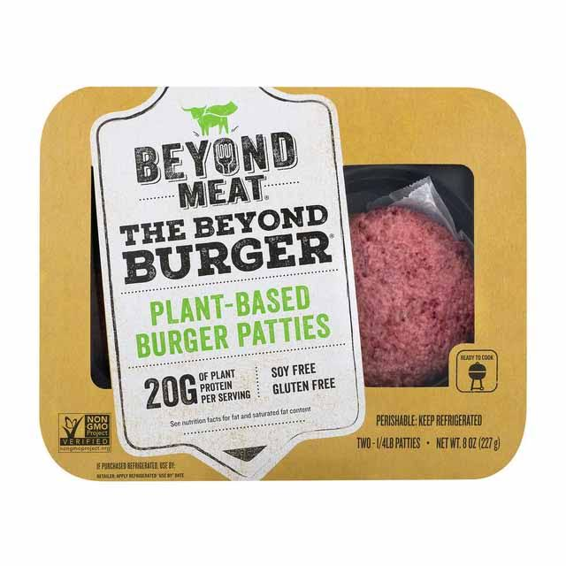 Beyond Meat Plant Based Burger Patties - 8oz, 2pk