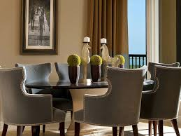 Upholstered Dining Chairs With Nailheads by Fine Decoration Nailhead Dining Room Chairs Very Attractive Design