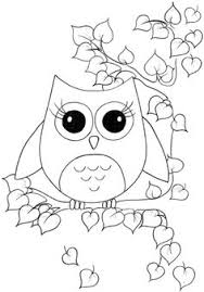Owl Coloring Pages On Pinterest Adult