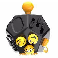 Mega Fidget Block 12 Sided Toy