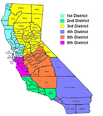 Map Of Counties California State County Inside