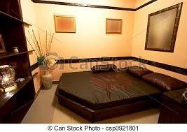 chambre style style japonaise chambre à coucher style hôtel moderne