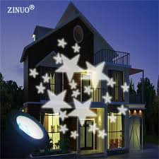 ZINUO Christmas Laser Star Projector Outdoor LED Waterproof Disco