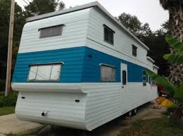 1954 22Two Story22 Vintage Travel Trailer For Sale 001