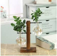 deko vasen mit in aus holz fürs wohnzimmer günstig kaufen ebay