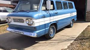 100 Chevy Corvair Truck Find Of The Week 1964 Chevrolet Greenbrier Sportswagon