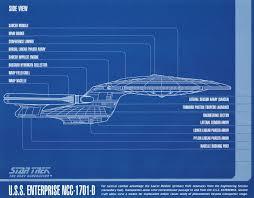 Star Trek The Next Generation Lower Decks by Star Trek Blueprint Collection A Portfolio Set Of 8 Authorized 11