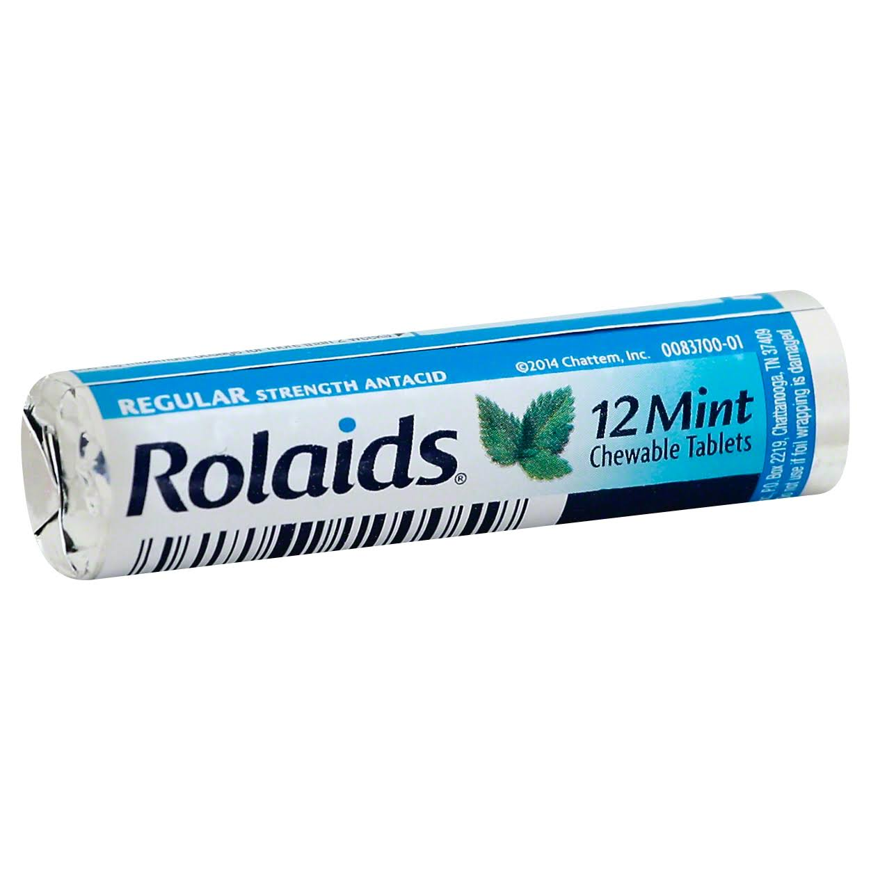 Rolaids Antacid Regular Strength Mint - Chewable, 12 Tablets