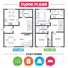 100 Modern Architecture House Floor Plans Plan With Furniture Floor Plan Furniture
