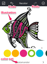 IPhone Coloring Book App For Adults Recolor