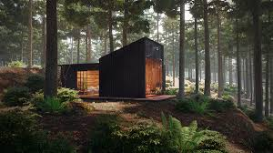 100 House In Forest Pine On Behance