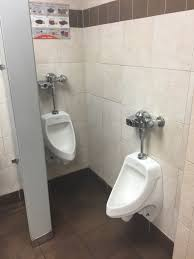 Urinals At A Pilot Truck Stop : CrappyDesign
