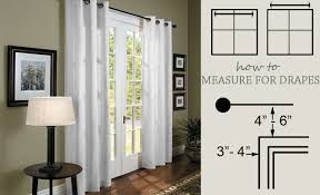 Floor To Ceiling Tension Rod Curtain by How To Measure For Drapes Measure For Curtains