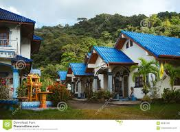 100 Modern Single Storey Houses House With Blue Roof Stock Photo Image Of Good Concrete 85367340
