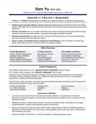 Functional Resume Sample Project Manager Best Management Simple Definition TendToo