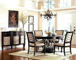 Rug Size For Dining Room Table Rugs Foot Round Area Kitchen Ideas