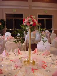 Dining Room Table Decorating Ideas For Spring by Head Table Centerpieces Reception Decorations Photo Wedding