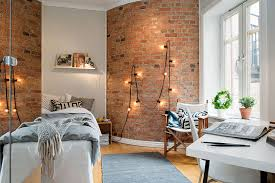 Interior DesignsStylish Exposed Brick Wall For Bedrooms Ideas Exiciting Home
