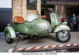 Berlin May 13 2017 Scooter Vespa Stock Photo 651165862