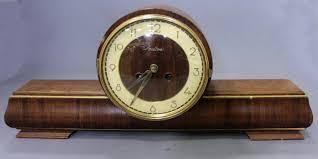 100 Mauthe MAUTHE MANTEL CLOCK Hodgins Art Auctions Ltd Halls