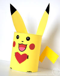 This DIY Pikachu Valentine Box Is Perfect For Your Pokemon Loving Kid And Their School