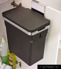 poubelle cuisine de porte 23 objets gain de place pour optimiser l espace d une