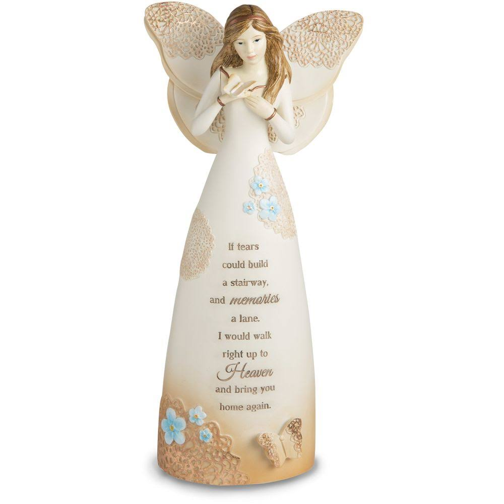 Pavilion Gift Company Light Your Way Memorial Sympathy Angel Figurine - 9""