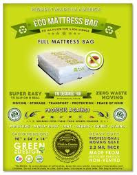 Full Size Mattress Protection from Bed Bug Infestations – Eco