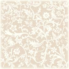 Floral White And Brown Background Vintage Free Scrapbook Paper