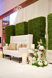100 Modern Chic White Green Mirror Greenery Wedding