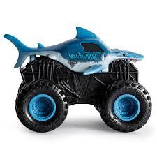 100 Monster Jam Toy Truck Videos Official Megalodon Rev N Roar 143