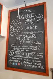 Cousins Maine Lobster - Type By Trisha - Chalk Art, Hand Lettering ...