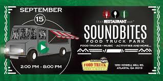 100 Food Trucks Atlanta Soundbites Truck Park Black Restaurant Week