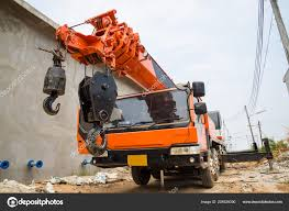 Boom Truck Crane Truck Hydraulic Control — Stock Photo © Watcharapol ...