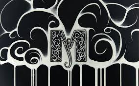 M Letter WallDevil