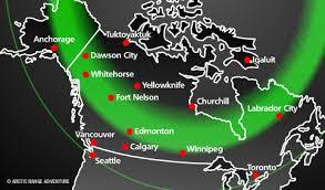 Aurora Borealis Forecast Whitehorse Yukon March 13 2018