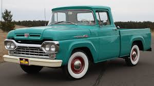 1960 Ford F100 - 1 - Print Image   F- Series   Pinterest   Ford ... 1960 Ford F100 427 V8 Truck Blue Oval 571960 The Gems Once Forgotten Effie Photo Image Gallery Highboys My Ford Crew Cab Enthusiasts Curbside Classic F250 Styleside Tonka Assetshemmingscomuimage6237598077002xjpgr Ranger T6 Wikipedia Shanes Car Parts Berlin Motors File1960 F500 Stake Truck Black Frjpg Wikimedia Commons For Sale Classiccarscom Cc708566 Schnablm23 F150 Regular Cab Specs Photos Modification Big