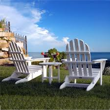 Navy Blue Adirondack Chairs Plastic by Polywood Classic Folding Adirondack Chair