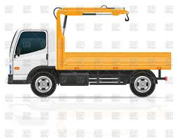 100 Tow Truck Clipart With Small Crane Tow Car Vector Image Of Transportation