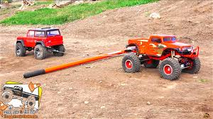 RC ADVENTURES - TUG OF WAR - 14 Trucks, Power Pulling - POKER RALLY ...