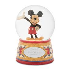 Jim Shore Halloween Disney by Shore Disney Traditions Mickey Mouse Snow Globe