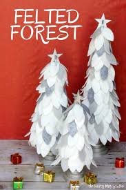 You Will Sing Oh Christmas Tree As Make These Felt Trees Easy DIY