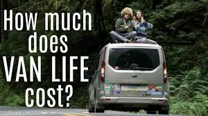 HOW MUCH DOES VAN LIFE COST Monthly Budget